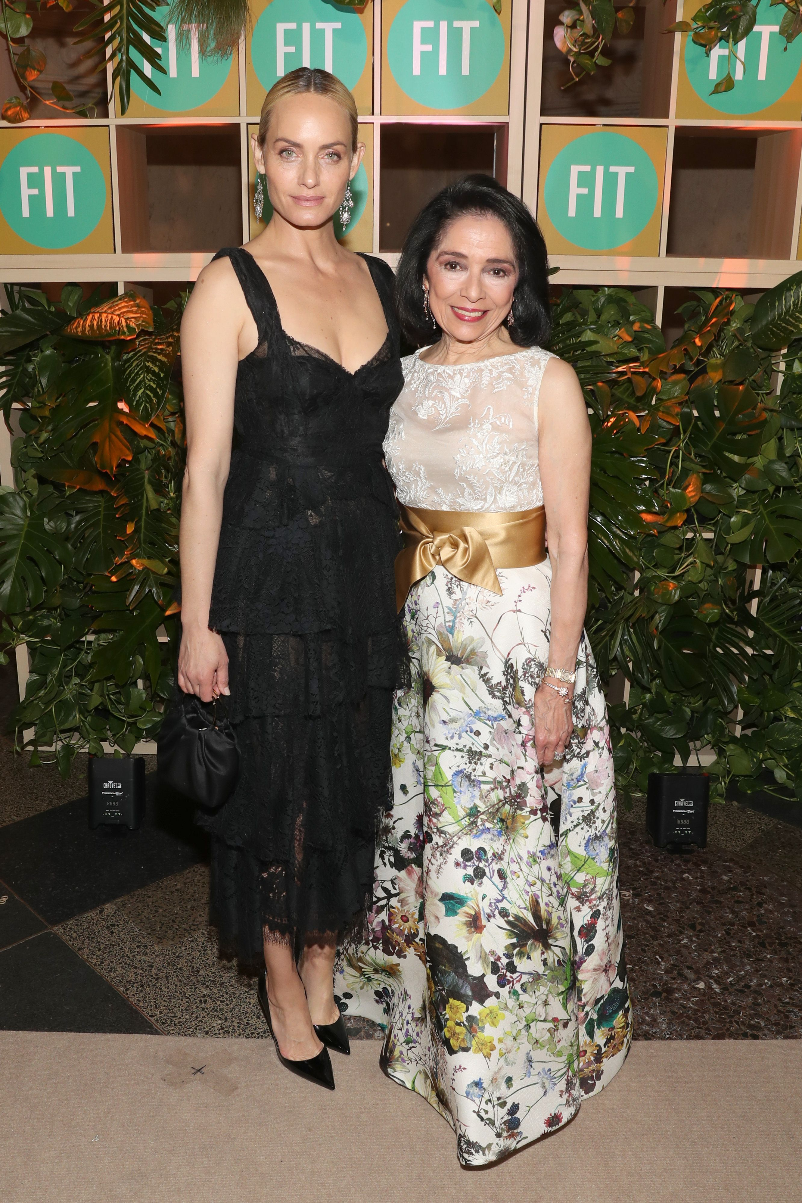 Amber Valletta and Dr. Joyce F. Brown Amber Valletta and Dr. Joyce F. Brown attends the Fashion Institute of Technology (FIT) and FIT Foundation's 2019 Annual Awards Gala at the American Museum of Natural History on April 3 in New York.