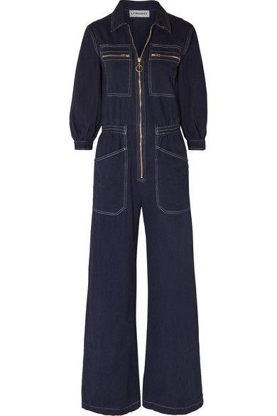 L.F.MARKEY Dante cotton-drill jumpsuit