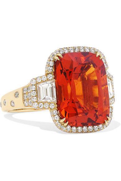 birthstone engagement rings
