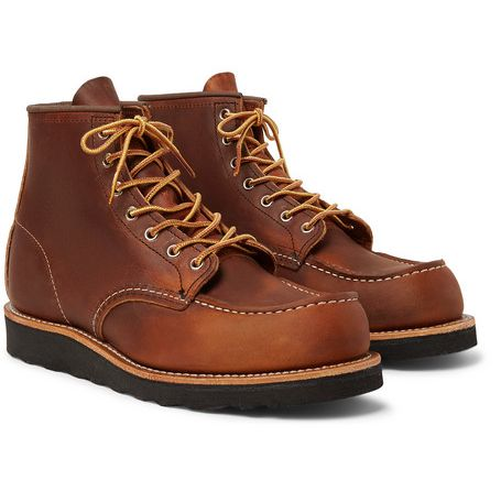 Red Wing 8138 Moc Toe boots