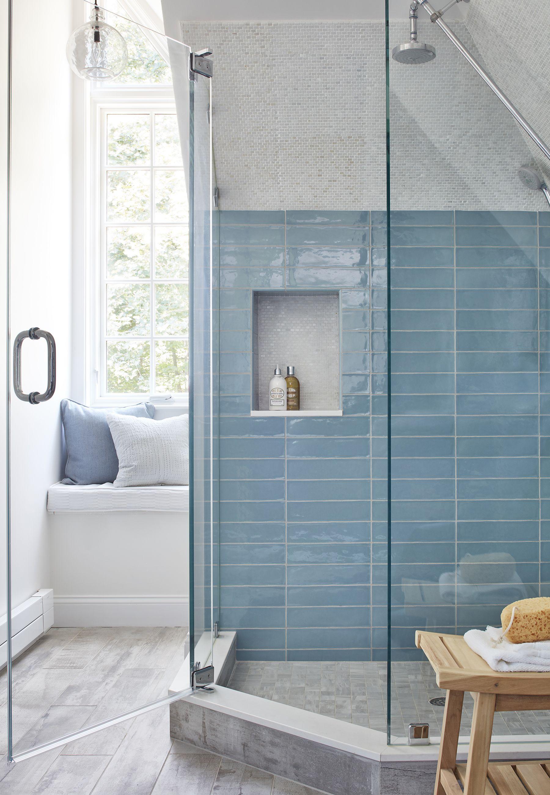 24 Creative Blue And Green Tiled Bathrooms Best Bathroom Ideas