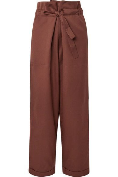 Le 17 Septembre: Wool-twill tapered pants