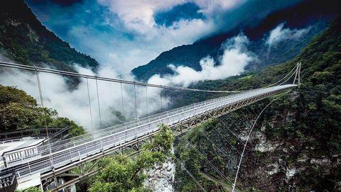 太魯閣「山月吊橋」要開放了!