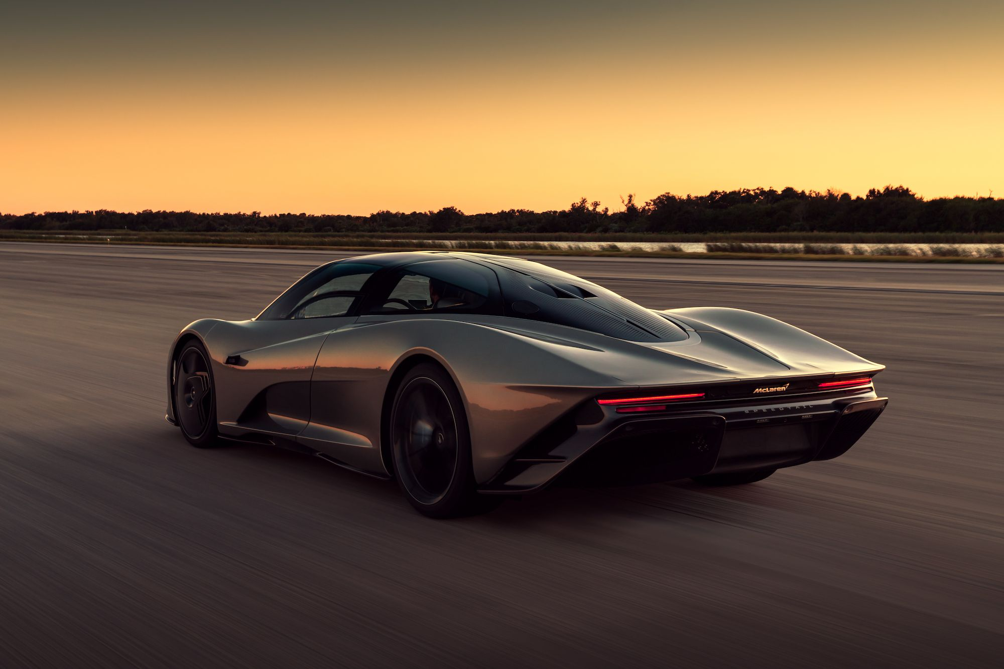 The McLaren Speedtail Hit 250 MPH More Than 30 Times in Testing at Kennedy Space Center