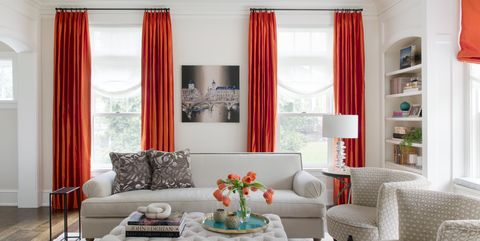 Best Orange Home Decor Tips How To Decorate With
