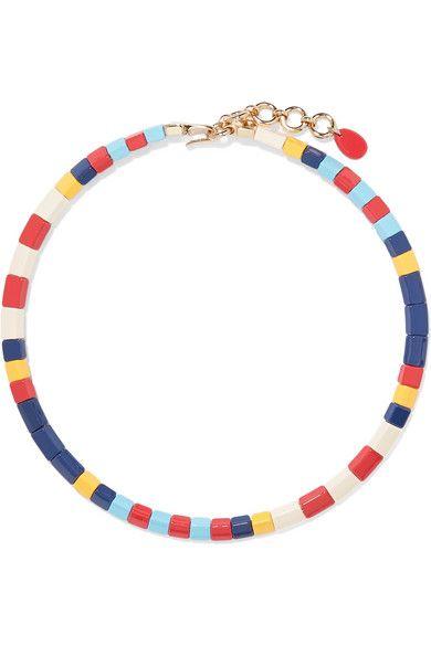 Roxanne Assoulin, Regatta enamel necklace