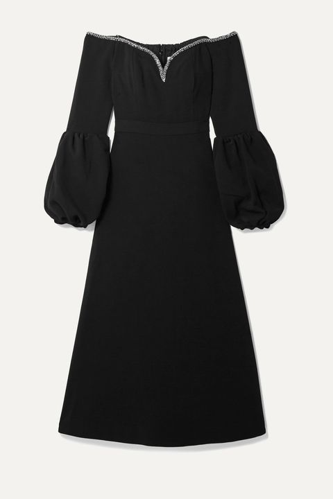 Clothing, Black, Dress, Sleeve, Little black dress, Day dress, Collar, Cocktail dress, Outerwear, A-line,