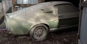 Shelby GT500 granero