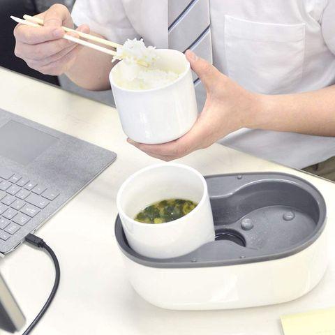 日本 THANKO MINIRCE2 一人用 手提式 小型炊飯器 一人電鍋 飯鍋