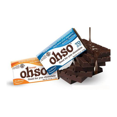 Solgar's Ohso Probiotic Chocolate Bars