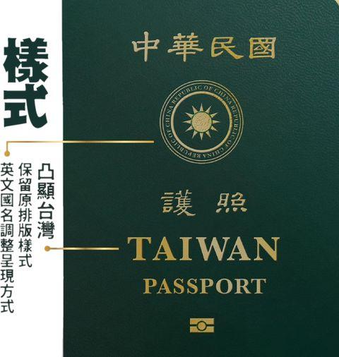 台灣護照終於要改版了!新護照3大重點整理:封面「taiwan」變超大、官宣「這一天」發行