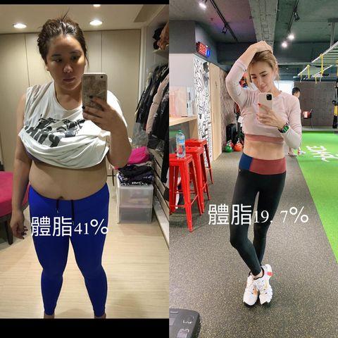 小禎狂瘦40公斤,卻完全沒復胖!曝光7個健身減肥的嚴格原則