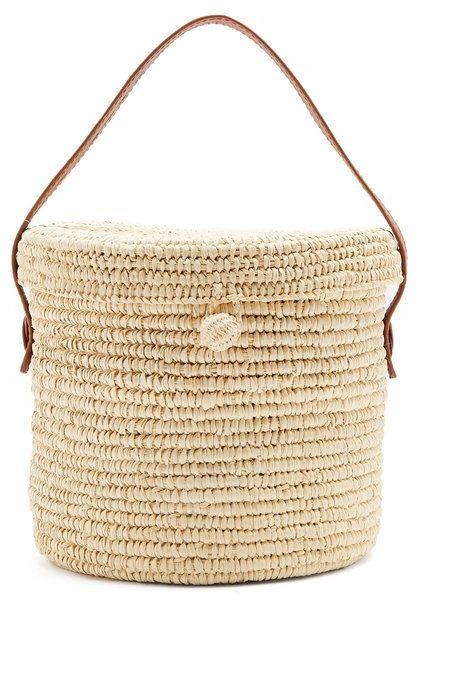 Bag, Beige, Handbag, Basket, Fashion accessory, Shoulder bag, Wicker,