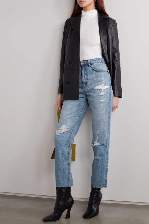 jeans donna 2020, jeans a vita alta, jeans larghi a vita alta, jeans comodi, jeans primavera 2020, jeans primavera estate 2020, jeans estate 2020, denim 2020, tendenze jeans 2020, tendenze denim 2020, jeans a vita abbinamenti, jeans boyfriend abbinamenti, jeans boyfriend look, tendenze jeans primavera 2020, modelli di jeans tendenza 2020, jeans donna 2020, jeans moda 2020, jeans scoloriti, jeans strappati, jeans distressed