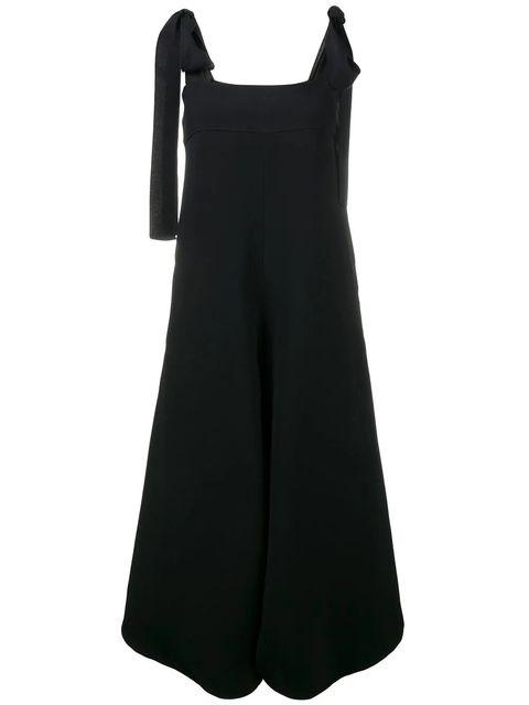 Clothing, Black, Dress, Cocktail dress, Day dress, Shoulder, Little black dress, Sleeve, A-line, Neck,