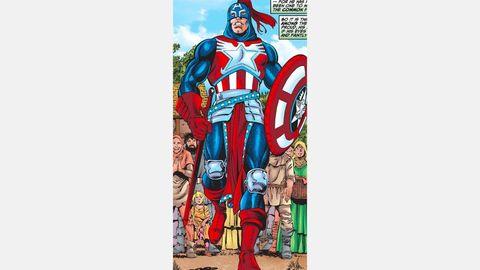 mejores trajes capitán america en cine y cómic