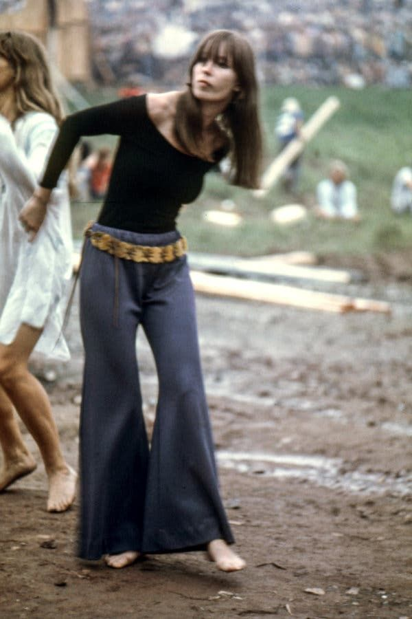 Summer Of Love Fashion Jimi Hendrix Woodstock Fashion At Woodstock
