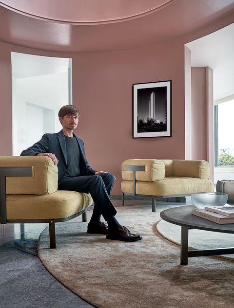 lorenzo pennatio, federico peri, designer, interior designer, marieclaire maison italia, dicembre2020 gennaio2021