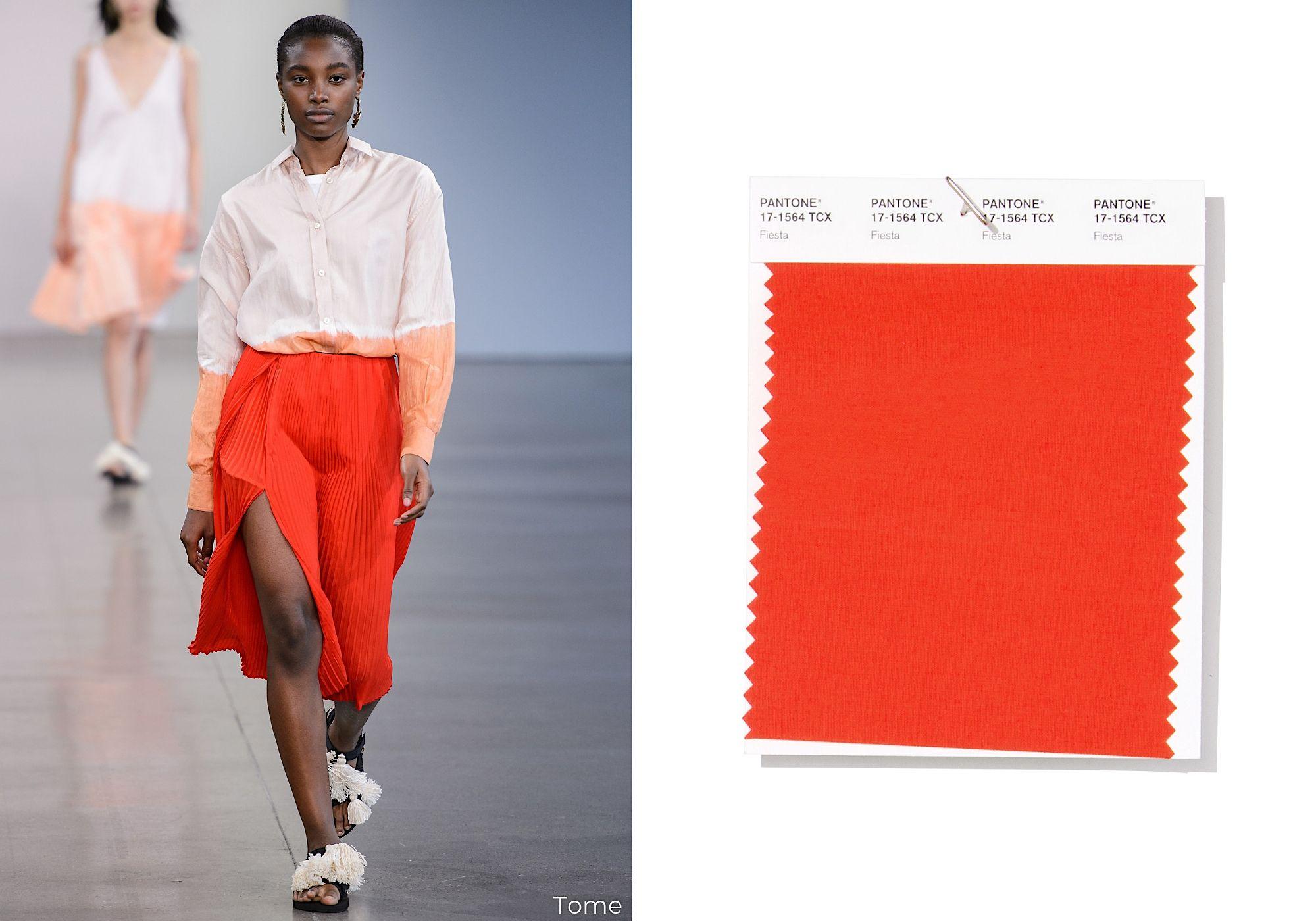 colori moda 2019, colori di tendenza 2019, colori primavera estate 2019, colori  moda