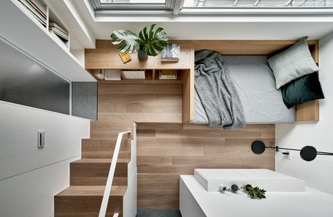 17,6 mq per una micro-casa a Taipei firmata dallo studio A Little Design