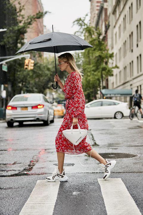 梅雨季時髦穿搭