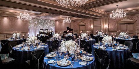 ザ・リッツカールトン大阪の結婚式の宴会場