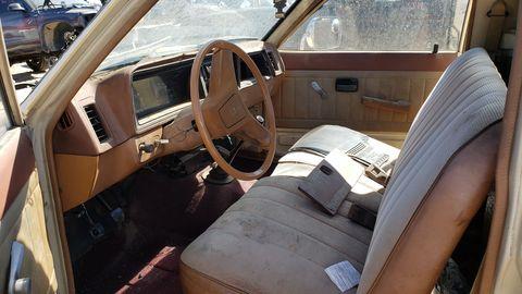 1982 isuzu p'up aka chevrolet luv in denver junkyard