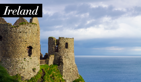 Castle, Ruins, Sky, Promontory, Fortification, Coast, Sea, History, Cliff, Tourism,