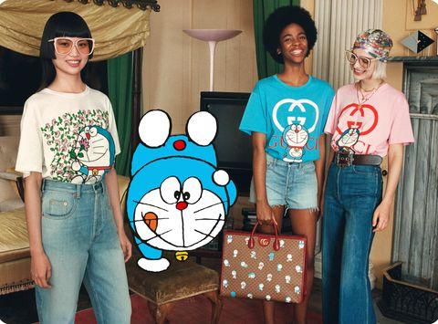 gucci聯名哆啦a夢打造最強50周年限定系列!「隱藏版」金牛角哆啦a夢迷你包、皮夾全都想一次帶回家