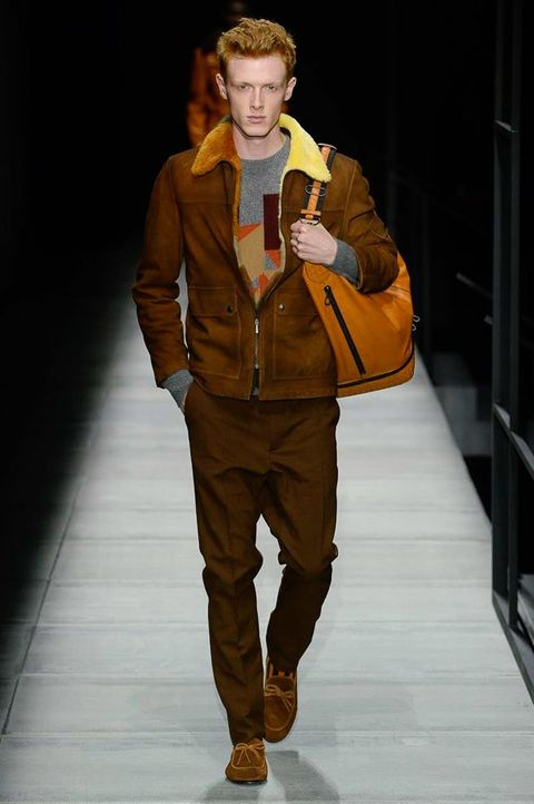 Fashion, Runway, Fashion show, Fashion model, Clothing, Human, Outerwear, Jacket, Fashion design, Model,