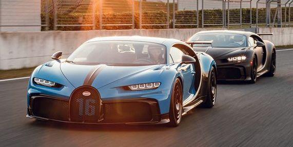 bugatti pur sport testing