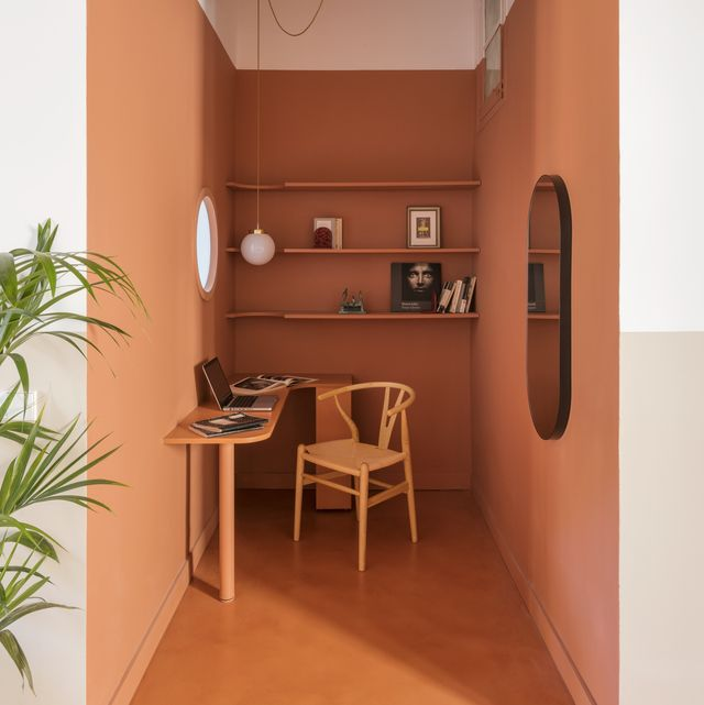 Colour blocking Barcelona apartment by Columbo and Serboli Architecture