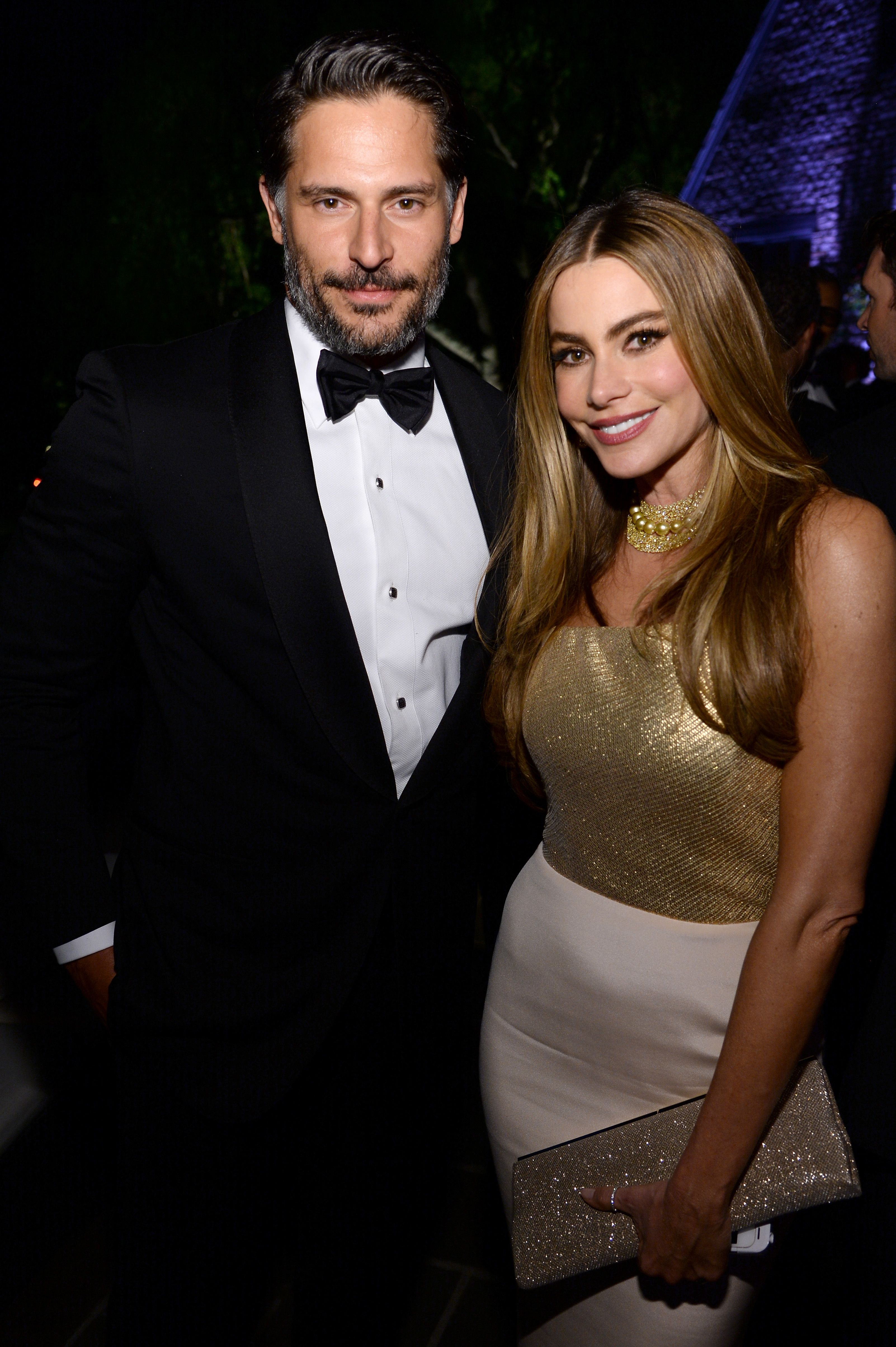 Joe Manganiello and Sofia Vergara Vergara's Modern Family costar Jesse Tyler Ferguson introduced the couple at a party, and later gave Manganiello Vergara's phone number to help move things along. The genetically-blessed couple has been married since 2015.