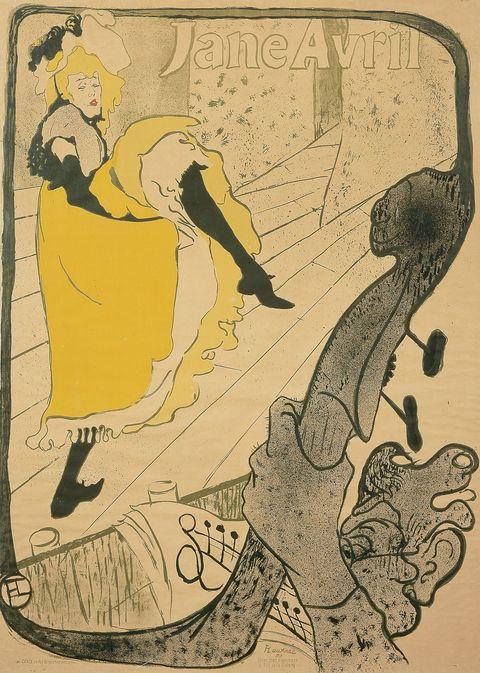 Henri de Toulouse Lautrec - Jane Avril
