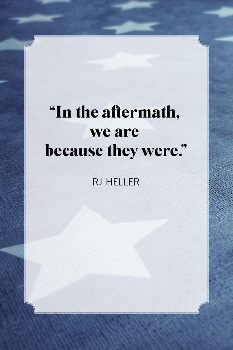rj heller memorial day quotes