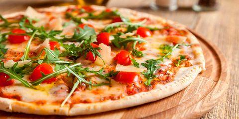 Dish, Pizza, Food, Cuisine, Flatbread, Ingredient, California-style pizza, Pizza cheese, Tarte flambée, Italian food,