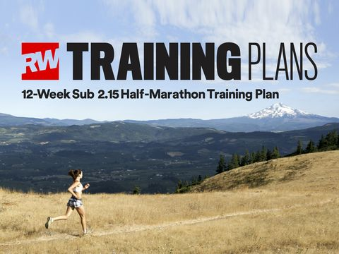 sub-2:15 half marathon training plan