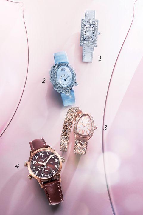 ハリー・ウィンストンとブレゲとブルガリとパテック フィリップの時計
