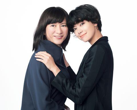 モデル森星さんと、作家で広告会社勤務の岡部鈴さん