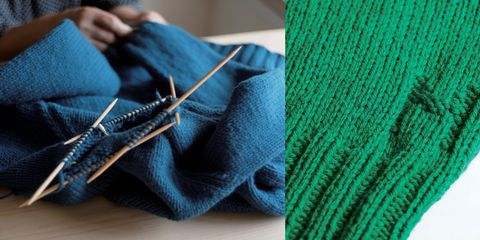 気仙沼ニッティングのセーター