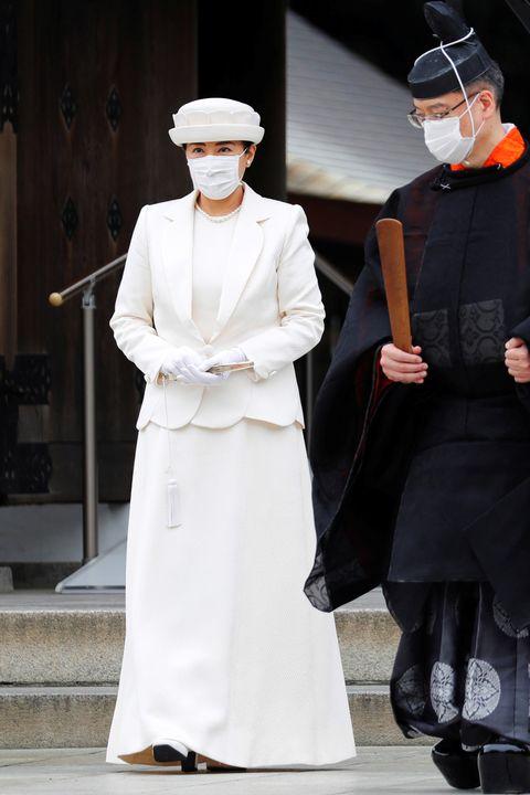 2020年10月28日 明治神宮にて。天皇皇后両陛下は28日、11月1日に創建100年を記念する祭典が行われる東京の明治神宮に参拝されました。