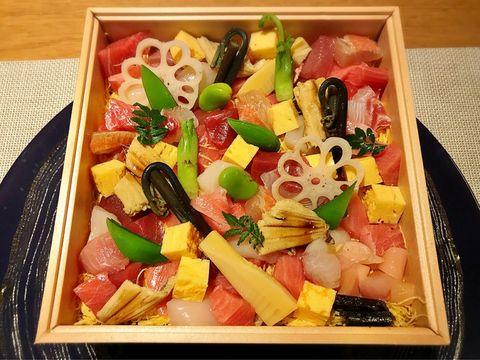 ラ・ボンバンスの「ちらし寿司弁当」