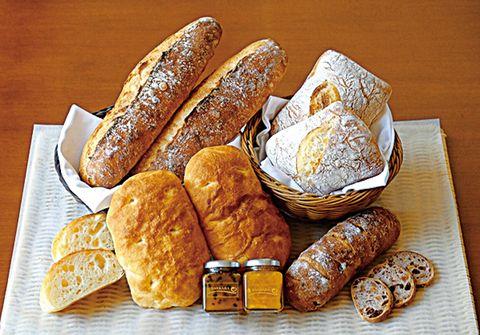 サンカラ・ホテルスパ屋久島のパン