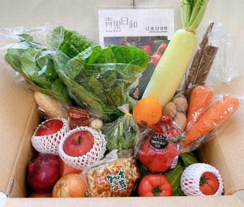 高級レストランで使用している野菜が届くサブスク青果日和の「青果box」って? 価格や量をレポート 何が送られてくる?