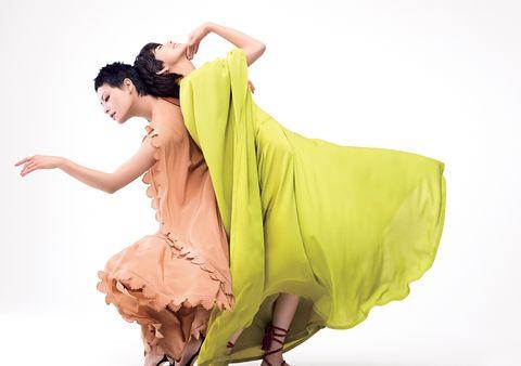 モデル森星さんと、ダンサー・振付師の菅原小春さんの