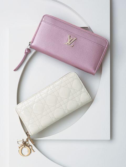 ルイ・ヴィトンとディオールの財布