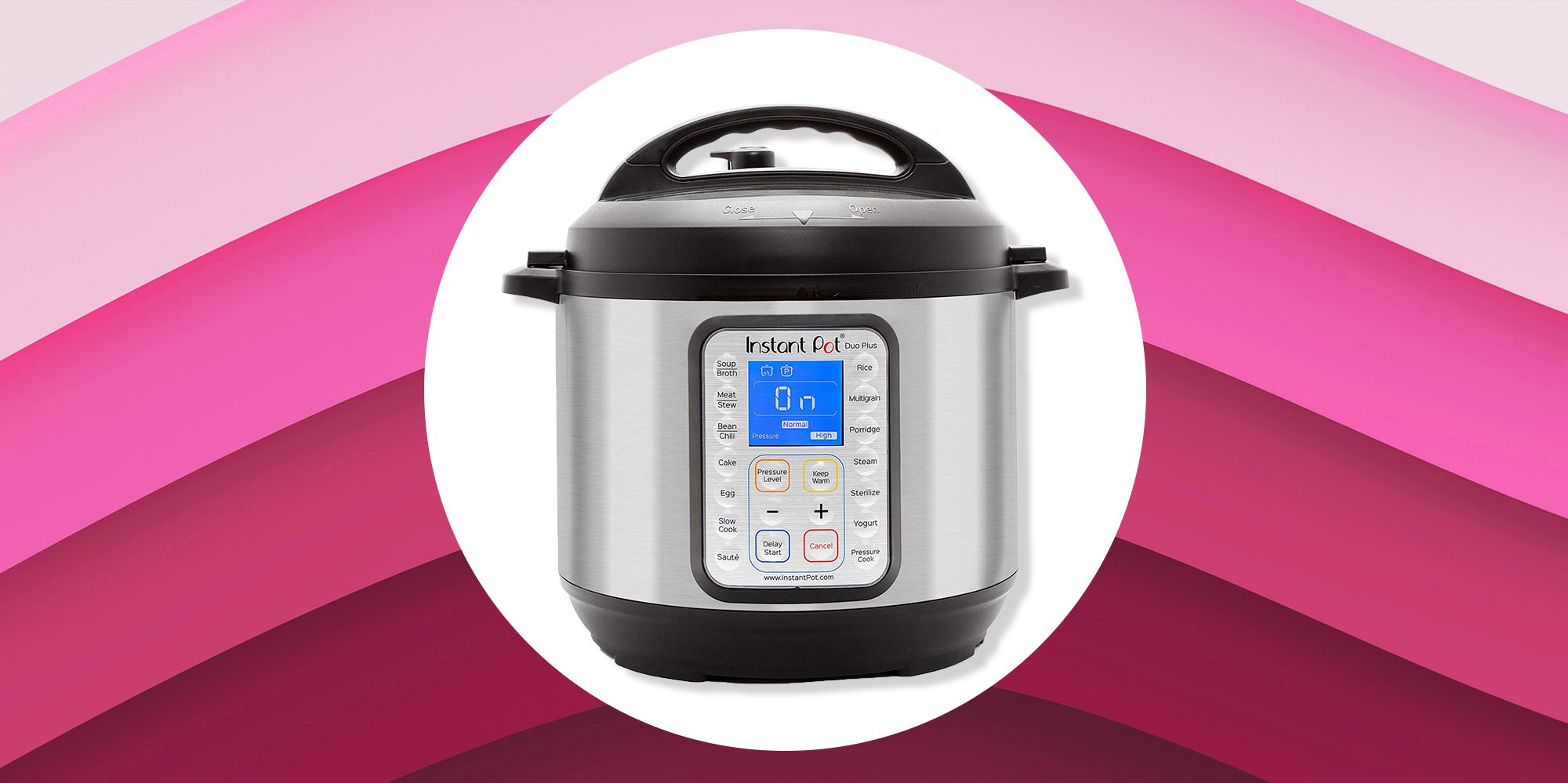 The Instant Pot 6-Quart Duo Plus Is On Sale For 50 Percent Off On Amazon After Cyber Monday