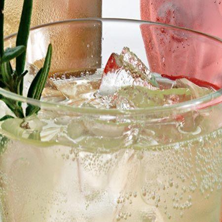 Pineapple-Rosemary-Ginger Soda