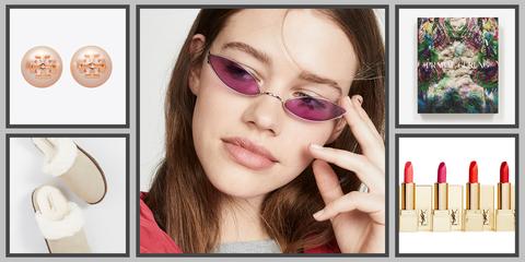 Eyewear, Face, Lip, Violet, Skin, Glasses, Beauty, Eyebrow, Purple, Nose,