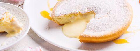 Dish, Food, Cuisine, Ingredient, Dessert, Baked goods, Powdered sugar, Berliner, Produce, Sponge cake,